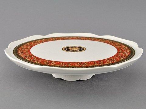 Тарелка для торта на ножке 28 см Сабина Leander
