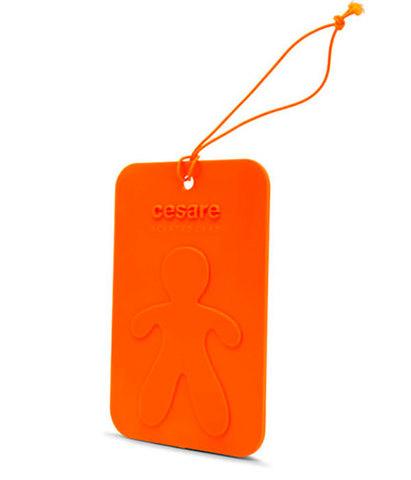 Аромакарточка для автомобиля и гардеробной Cesare Энергия (оранжевый), Mr&Mrs Fragrance