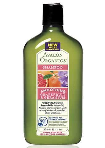 Разглаживающий шампунь с грейпфрутом и геранью, Avalon Organics