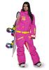 Женский сноубордический комбинезон Cool Zone Fox 3422 цикломен фото
