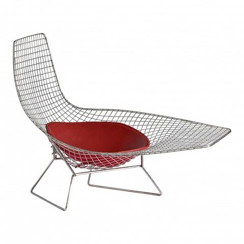 replica  Bertoia Asymmetric armchair