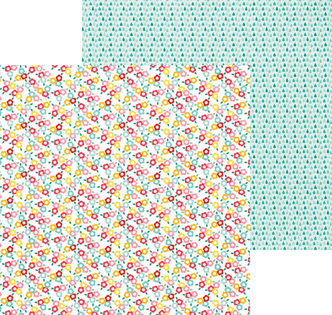 Лист двухсторонней бумаги - Puddle jumper