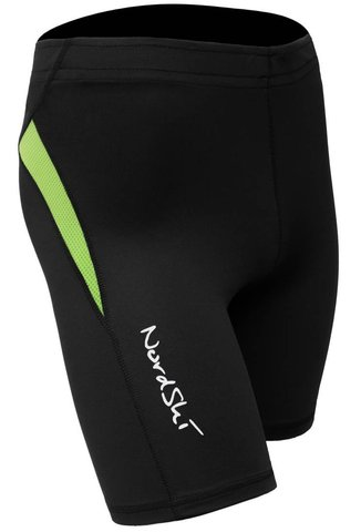Шорты обтягивающие Nordski Premium Run Black-Green унисекс