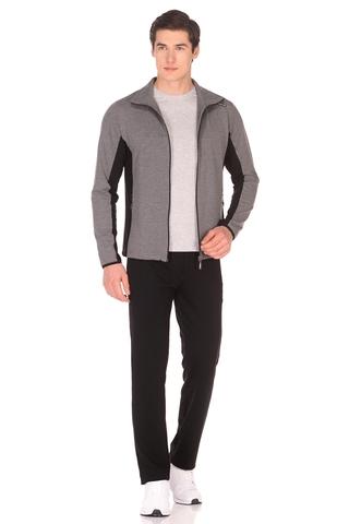 Спортивный костюм мужской серо-черный 1036