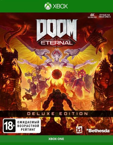 Xbox One DOOM Eternal. Deluxe Edition (русская версия)