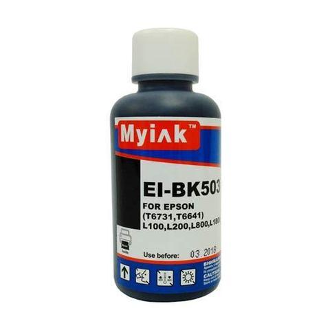 Чернила EI-BK503 Gloria™ MyInk black (черный) Dye 100мл.
