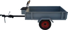 Тележка прицепная мотоблока ТМ-360 Каскад,Нева