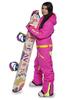 Женский утепленный сноубордический комбинезон Cool Zone Fox 3422 цикломен