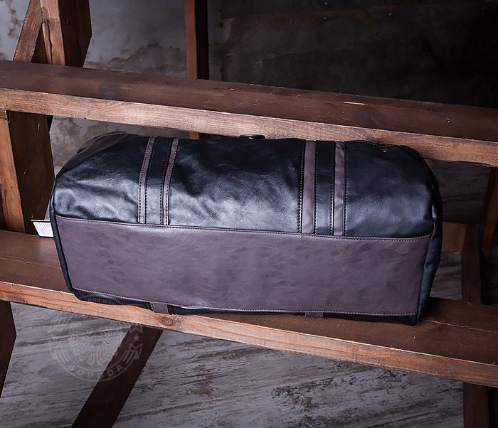 BAG408-1 Стильная мужская сумка из кожи с ремнем на плечо фото 05