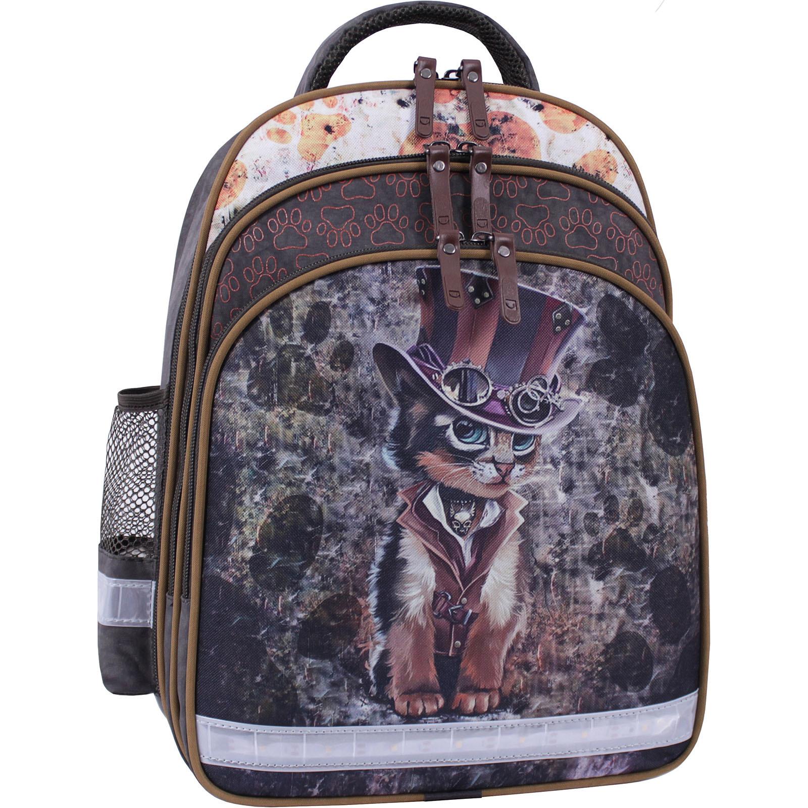 Для детей Рюкзак школьный Bagland Mouse 327 хаки 513 (0051370) IMG_0017_суб.513_.JPG