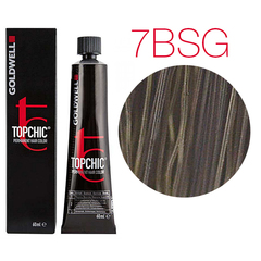 Goldwell Topchic 7BSG (коричневый янтарь) - Cтойкая крем краска