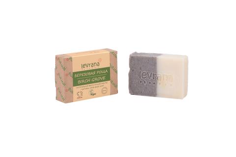 Levrana, Березовая роща, натуральное мыло, 100 г