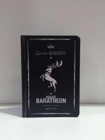 Notebook.Game of Thrones.House Baratheon