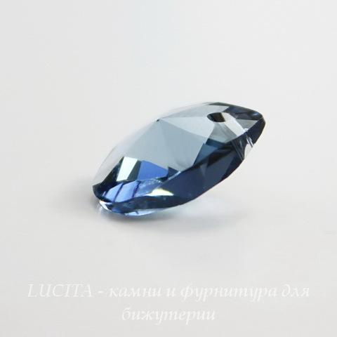 6128 Подвеска Сваровски Капля Denim Blue (12 мм)