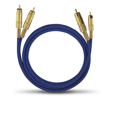 Oehlbach NF 1 Master RCA white 1.00m, кабель межблочный