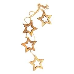 Гирлянда подвесная Wooden Stars, 4 шт. EnjoyMe
