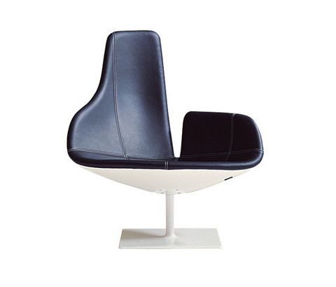 replica fjord armchair (leather )