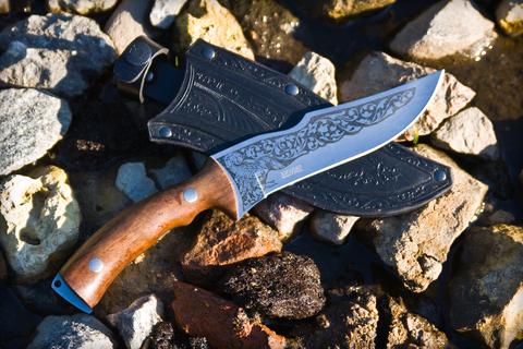 Охотничий нож Зодиак