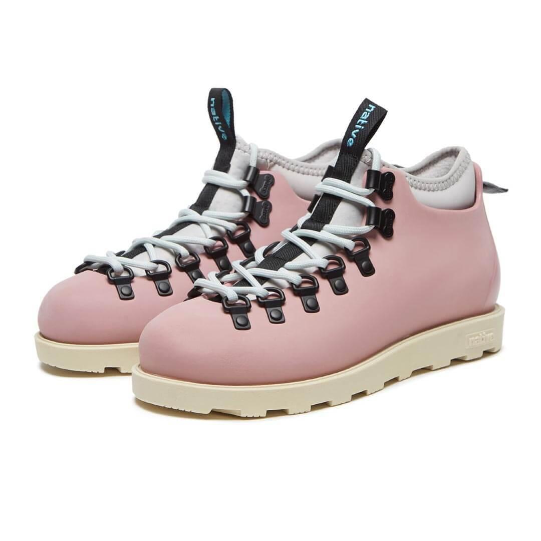 Ботинки Native Fitzsimmons Rose Pink Bone White