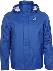 Мужская куртка дождевик для бега Asics Rain Jacket  142888 0805 синяя