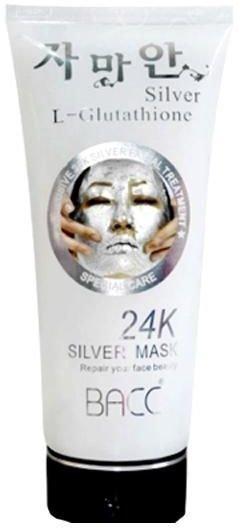 24K Восстанавливающая маска с биосеребром L-glutathione Silver Mask, 220 г