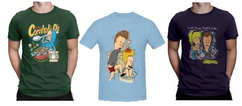 Бивис и Батхед футболка большого размера