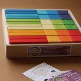 Набор Деревянных игрушек « Кубики + Кирпичики»
