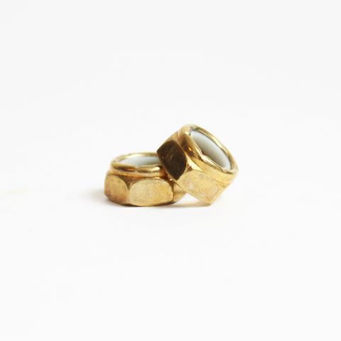 Гайки на кингпин FIVE HARDWARE (Gold) 2шт.