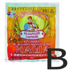 Каша Самарский Здоровяк №80 Пробиотик Б