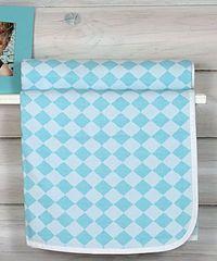 Плед детский 100х150 Luxberry Lux 3313 голубой