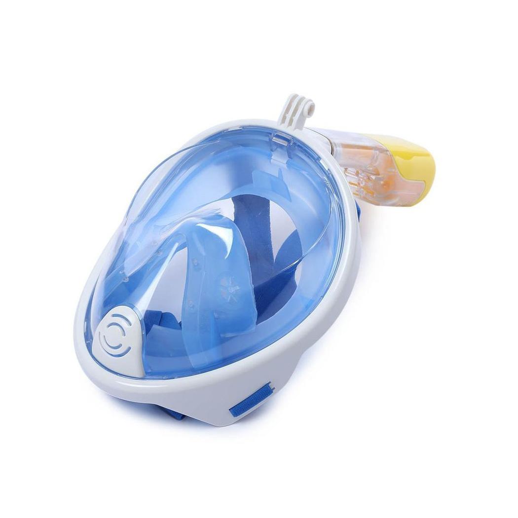 Маска EasyBreath (Free Breath) для снорклинга, синяя - Маски для снорклинга Easybreath, артикул: 869150