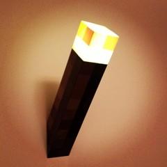 Светильник Факел из игры Майнкрафт — Minecraft Light-Up Torch