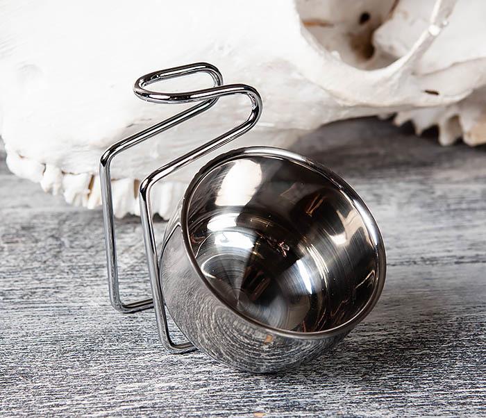 RAZ352 Подставка для помазка с чашей для бритья фото 06