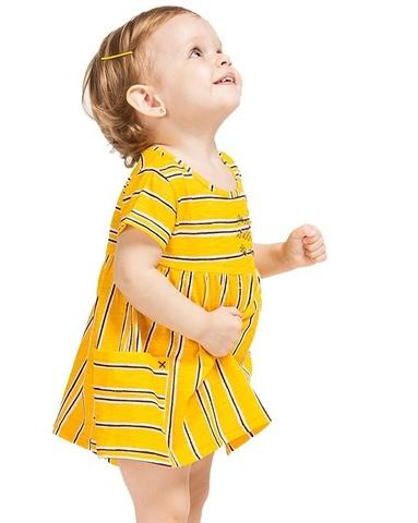 Платье Boboli детское Желтая полоска