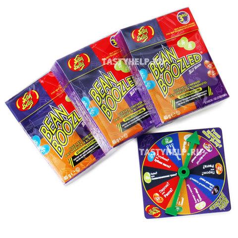Игра Bean Boozled (Бин Бузлд) 3 х 45 гр. + диск в подарок, 135 г.