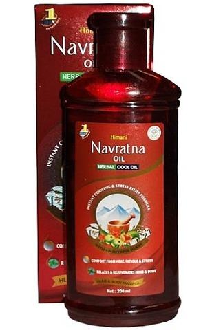 Масло охлаждающее Navratna, 200 мл, Himani (Индия)
