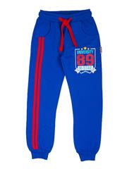 BK468P-4 спортивные брюки детские, синие