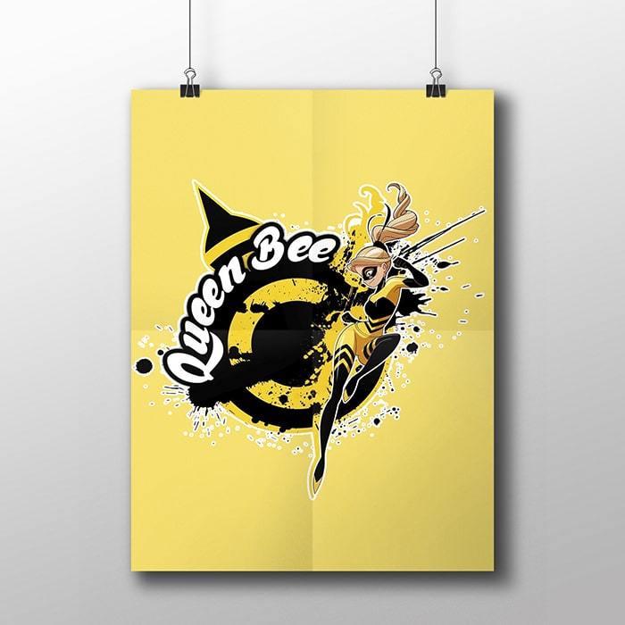 Плакат с Квин Би - купить в интернет-магазине kinoshop24.ru с быстрой доставкой