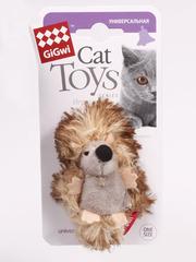Gigwi игрушка для кошек ежик с погремушкой