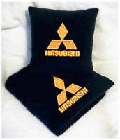 Плед в чехле с логотипом Mitsubishi