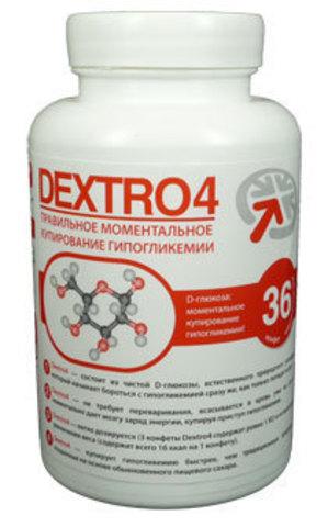 Средство для купирования гипогликемии «Декстро4» классический вкус (36 штук)