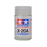 X-20A Tamiya, Разбавитель для акриловых красок (Acrylic Thinner) 46мл