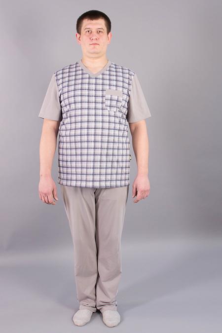 Выкройка мужской футболки на заказ