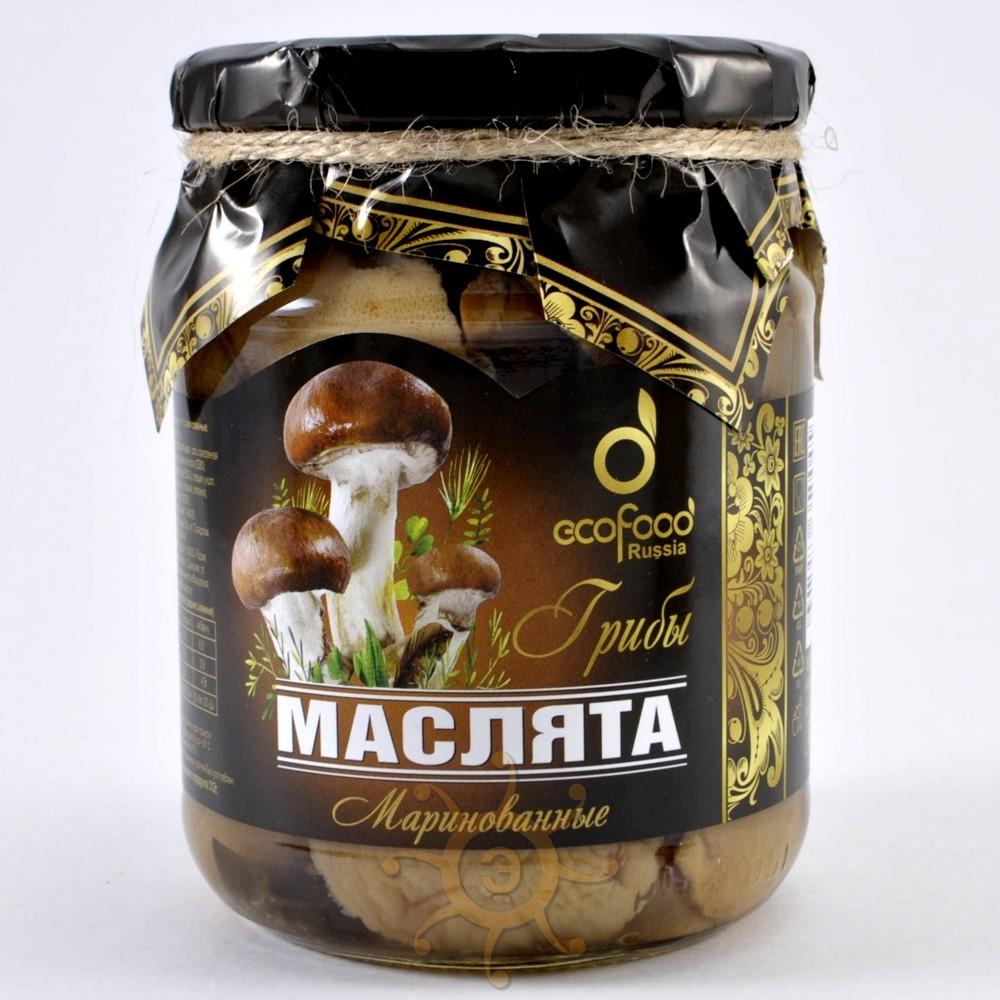 консервированные грибы маслята