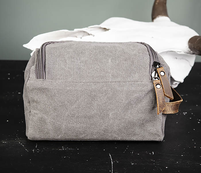 BAG480-3 Дорожный мужской несессер из текстиля фото 08