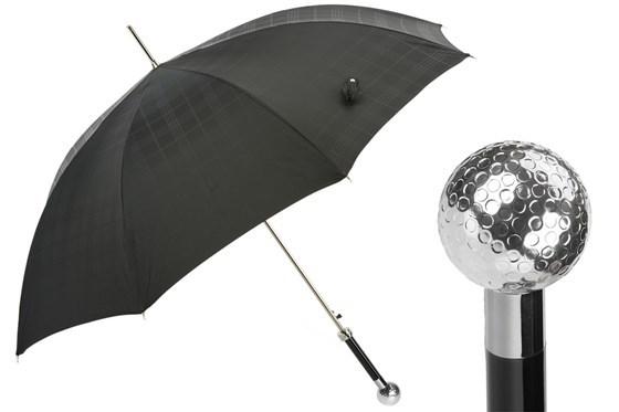 Зонт-трость Silver Golf Ball , Италия (арт.478 6434-19 W82).