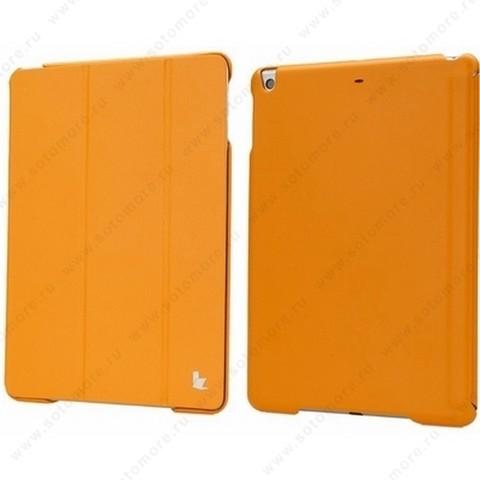 Чехол-книжка Jisoncase Executive для Apple iPad Air 1 оранжевый JS-ID5-01H