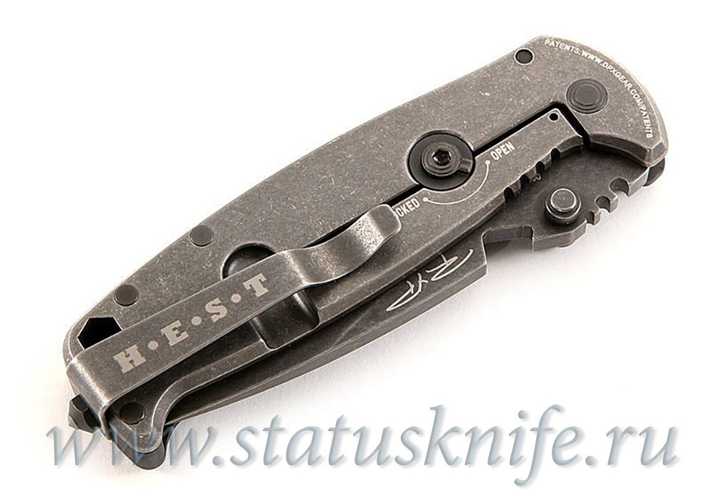 Нож DPx Gear HEST/F SHRED, CARBON FIBER