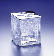 Стакан для зубных щеток Windisch Box Craquele хром