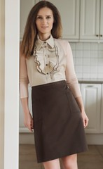 Фартук Ugi Julia Beige/Brown